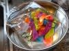 Lav dine egne chokoladeskåle til desserten - Vandballonerne er fundet frem
