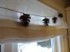 DIY Jule gran-guirlande - Så kom de op og hænge i køkkenet