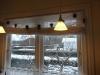 DIY Jule gran-guirlande - Så kom de op og hænge i køkkenet, fint ser det ud