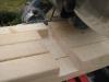Kapsav indstillet med dybdestop, ekstra lægte bagerst