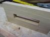 Ipad & Tablet vægstativ - Vægophænget opmærkes til hul for rundstok