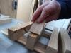 Ipad & Tablet vægstativ - Stumperne limes og lim trækkes ud