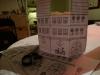 Hjemmelavet Juleby - Huset er klar til at blive malet af dig