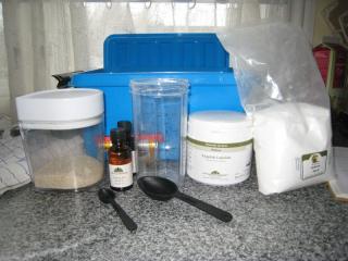Værktøjet er gjort klar til de hjemmelavede karameller