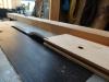 DIY - Vi bygger en skal i træ, brædderne skæres til