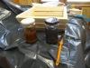 DIY - Vi bygger en skal i træ, the, vineddike og ståluld på glas !