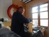 DIY - Vi bygger en skal i træ, det hele smøres ind i the
