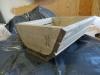 DIY - Vi bygger en skal i træ, Skal det være mørkere, så giver du det bare en gang mere af vineddike og ståluld