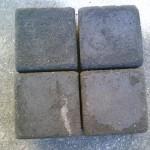 Granitfarvede fliser