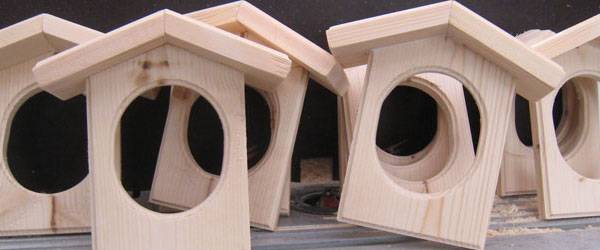Fuglekuglehus Ver2 – den flotte