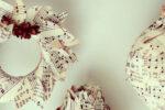 Julegaveidé nr. 11 - Julepynt i nodepapir