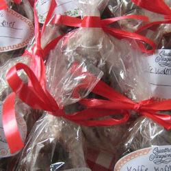 Hjemmelavede karameller med eller uden smag og farve
