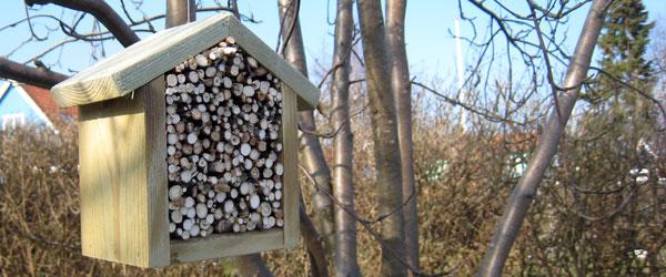 Insekthotel – byd insekterne velkommen indenfor