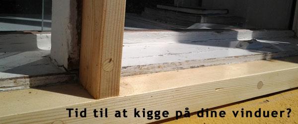 Reparation af dit gamle vindue