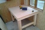Mobilt arbejdsbord - DIY byg det selv