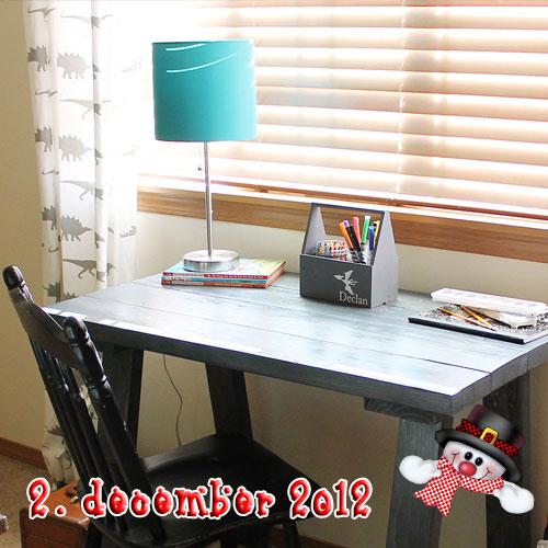 Rustik skrivebord – DIY