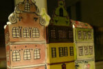 Julelandsbyen du selv klipper og maler