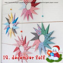 Fold selv de fineste små julestjerner