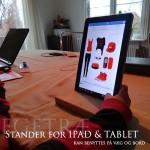Vægophængt Ipod & Tablet