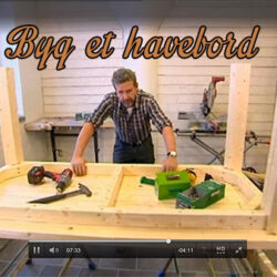 Byg et havebord på denne nemme måde