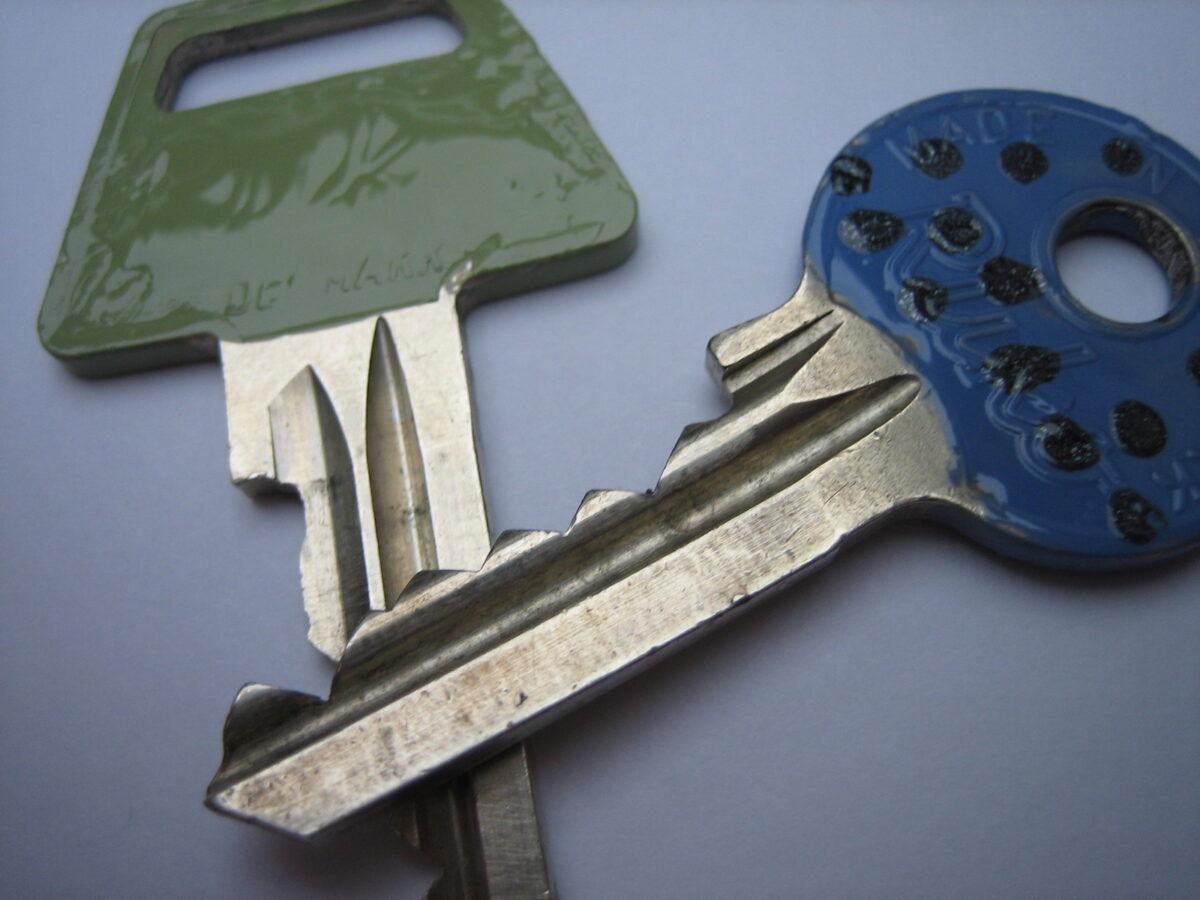 Mal en nøgle til ungerne, eller sammen med dem