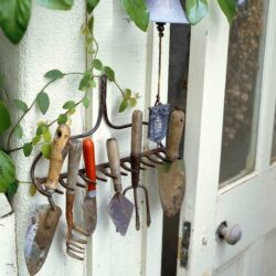 Brug den gamle rive til et dekorativt ophæng