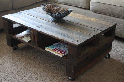 Byg et havebord af paller til udestuen