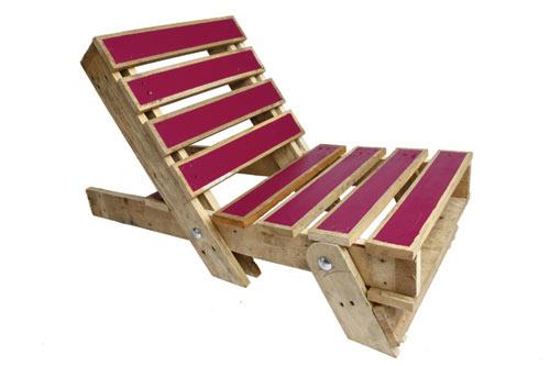 Byg en strandstol af de gamle paller