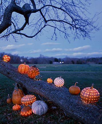 Græskar til Allehelgensaften / Halloween