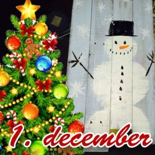 DIY julegave 1 – Lav et jule velkomstskilt af paller