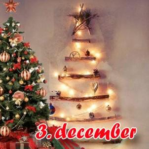 DIY julegave 3 – Hjemmelavet juletræ af drivtømmer