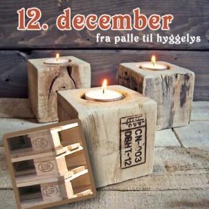 DIY julegave 12 – Fra palle til lysestage