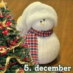 DIY Kalenderlåge 5 – Snemænd og frue af enlige sokker