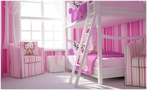 Hello Kitty tøseværelset