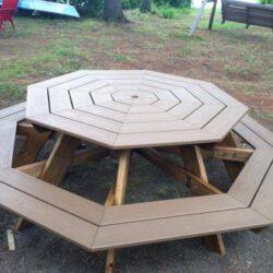 Byg en stor havebænk, med plads til otte