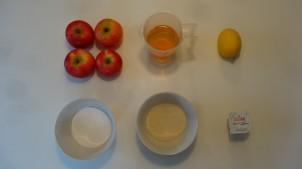 Hjemmelavet æblesorbet