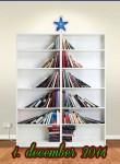 Juleudsmykning - lad julen starte i bogreolen