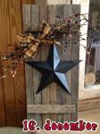 Støb en betonstjerne, til din flotte juledekortion