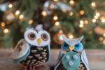 Hjemmelavede jule ugler