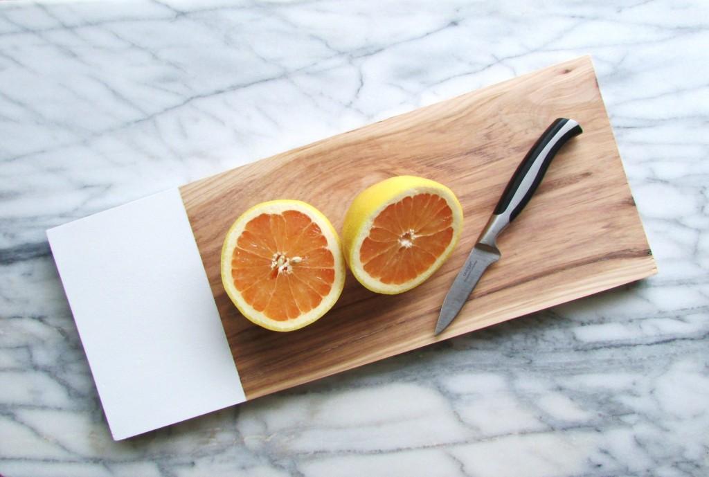 Lav dit eget hjemmelavede designer skærebræt