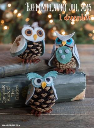 Hjemmelevede julegaver – Kogle Ugler