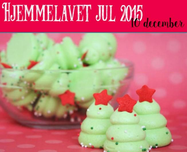 Hjemmelavet jul – Juletræs marengs