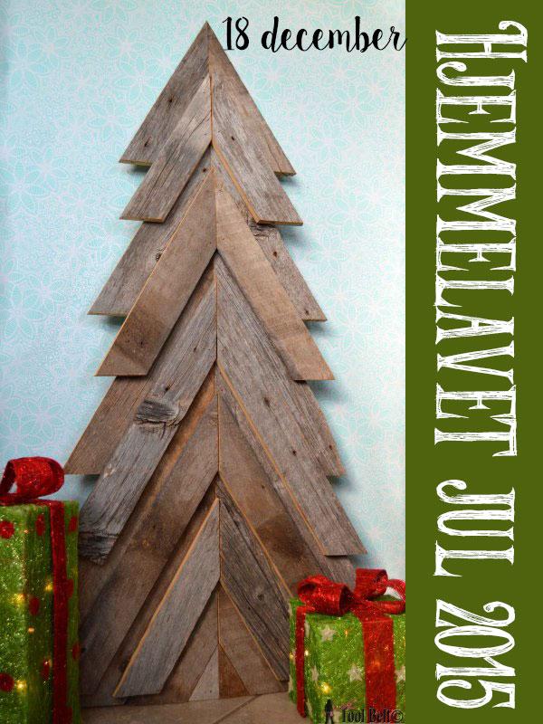 Hjemmelavet julehygge – Palle Juletræ