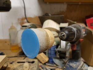 DIY Slibepude til trædrejning